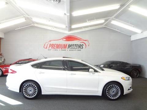 2013 Ford Fusion for sale at Premium Motors in Villa Park IL