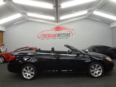 2011 Chrysler 200 Convertible for sale at Premium Motors in Villa Park IL