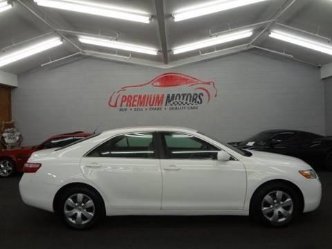 2008 Toyota Camry for sale at Premium Motors in Villa Park IL