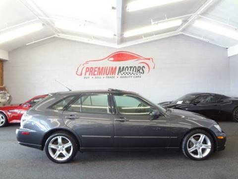2002 Lexus IS 300 for sale at Premium Motors in Villa Park IL
