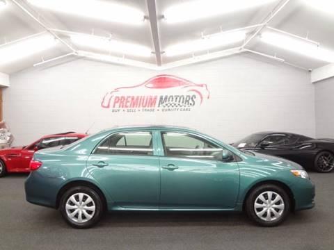 2009 Toyota Corolla for sale at Premium Motors in Villa Park IL