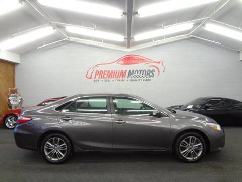 2015 Toyota Camry for sale at Premium Motors in Villa Park IL