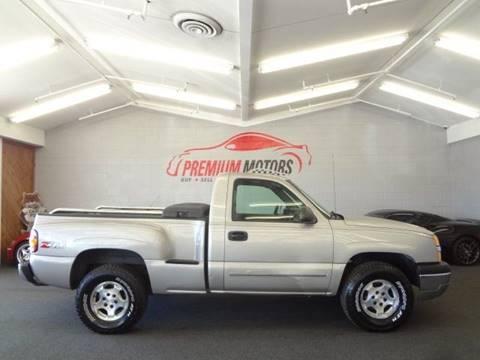 2004 Chevrolet Silverado 1500 for sale at Premium Motors in Villa Park IL