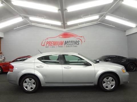 2008 Dodge Avenger for sale at Premium Motors in Villa Park IL