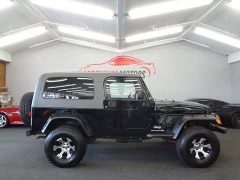 2004 Jeep Wrangler for sale at Premium Motors in Villa Park IL