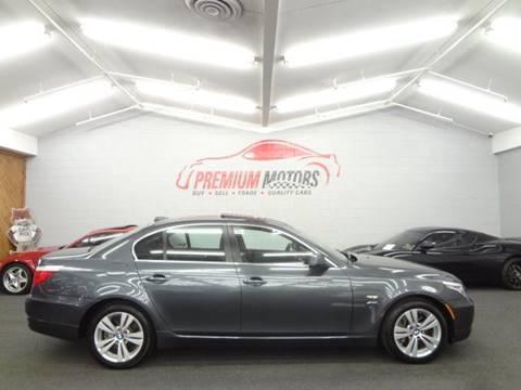 2010 BMW 5 Series for sale at Premium Motors in Villa Park IL