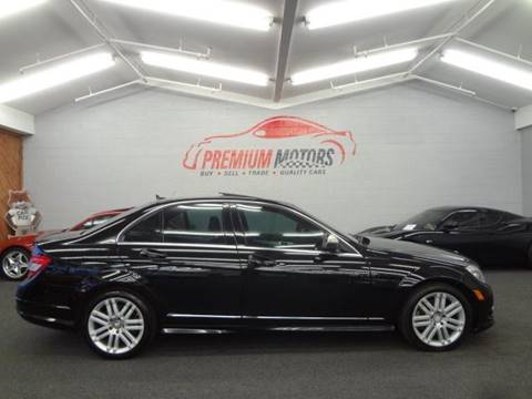 2009 Mercedes-Benz C-Class for sale at Premium Motors in Villa Park IL