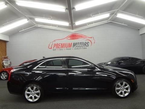 2014 Cadillac ATS for sale at Premium Motors in Villa Park IL