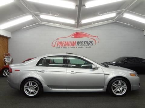 2008 Acura TL for sale at Premium Motors in Villa Park IL
