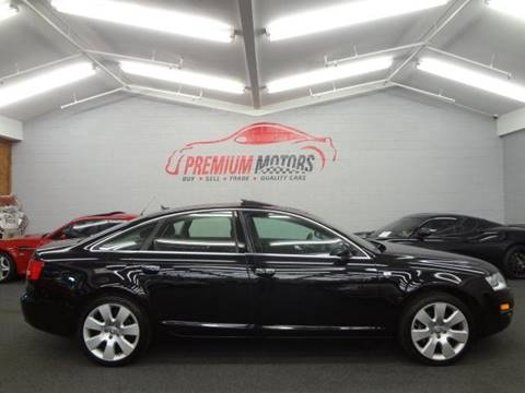 2007 Audi A6 for sale at Premium Motors in Villa Park IL