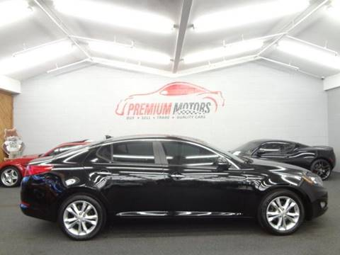 2013 Kia Optima for sale at Premium Motors in Villa Park IL