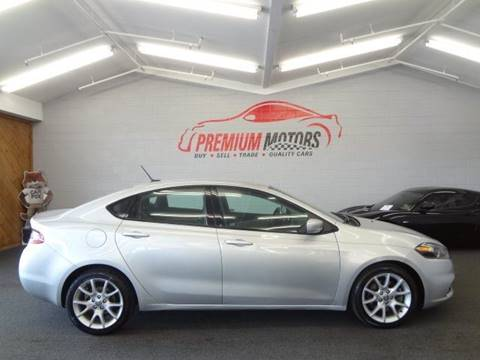 2013 Dodge Dart for sale at Premium Motors in Villa Park IL