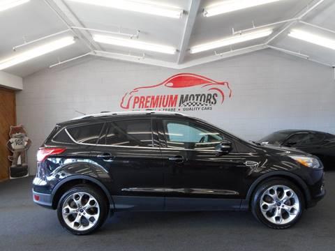 2013 Ford Escape for sale at Premium Motors in Villa Park IL