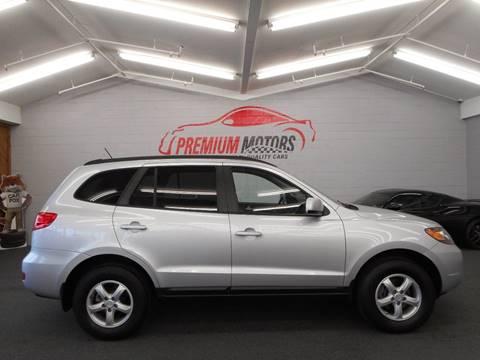 2008 Hyundai Santa Fe for sale at Premium Motors in Villa Park IL