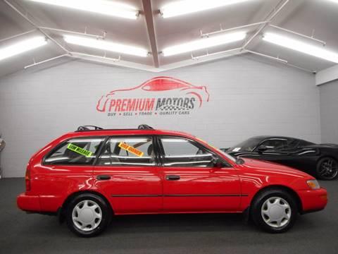 1996 Toyota Corolla for sale at Premium Motors in Villa Park IL