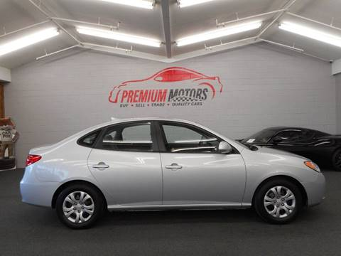 2010 Hyundai Elantra for sale at Premium Motors in Villa Park IL