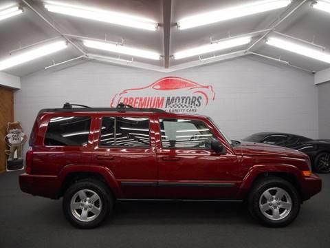 2007 Jeep Commander for sale at Premium Motors in Villa Park IL