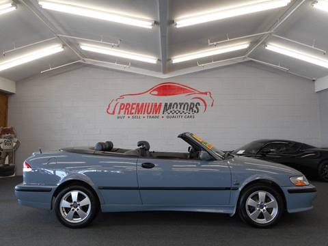 2003 Saab 9-3 for sale at Premium Motors in Villa Park IL