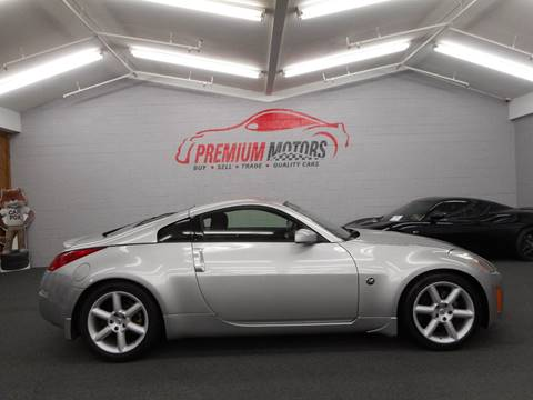 2003 Nissan 350Z for sale at Premium Motors in Villa Park IL