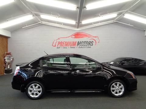 2012 Nissan Sentra for sale at Premium Motors in Villa Park IL