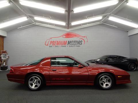 1989 Chevrolet Camaro for sale at Premium Motors in Villa Park IL