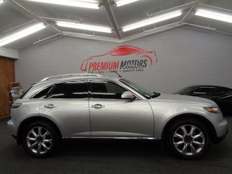 2006 Infiniti FX45 for sale at Premium Motors in Villa Park IL