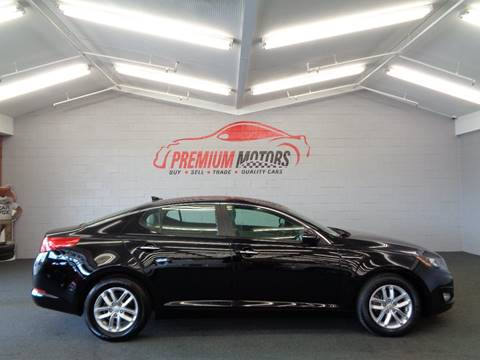 2012 Kia Optima for sale at Premium Motors in Villa Park IL