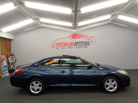 2006 Toyota Camry Solara for sale at Premium Motors in Villa Park IL