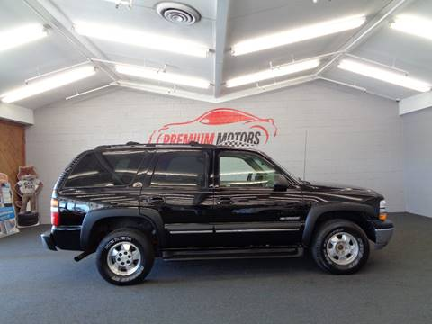 2003 Chevrolet Tahoe for sale at Premium Motors in Villa Park IL