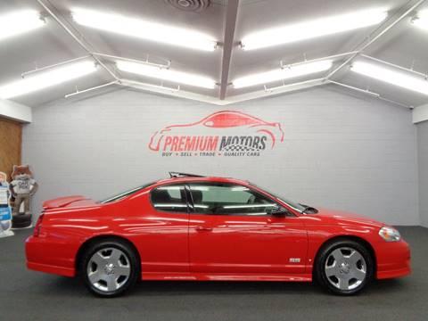 2006 Chevrolet Monte Carlo for sale at Premium Motors in Villa Park IL