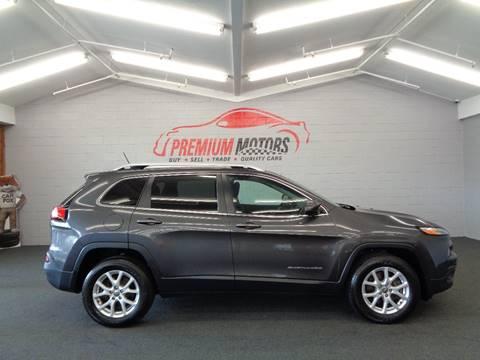 2015 Jeep Cherokee for sale at Premium Motors in Villa Park IL