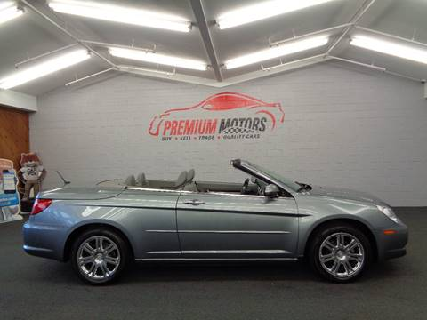 2008 Chrysler Sebring for sale at Premium Motors in Villa Park IL