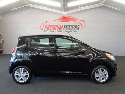 2013 Chevrolet Spark for sale at Premium Motors in Villa Park IL
