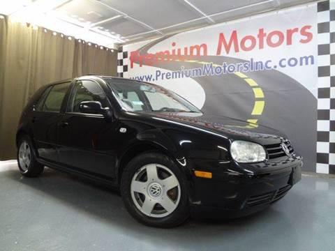2001 Volkswagen Golf for sale at Premium Motors in Villa Park IL