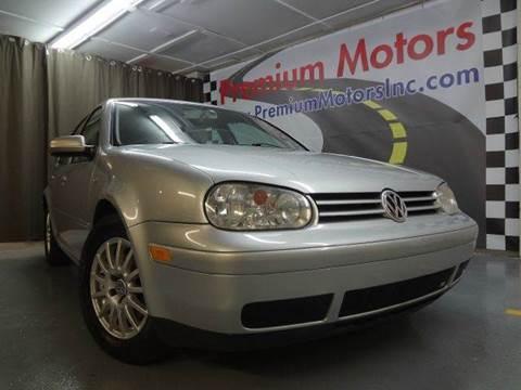 2005 Volkswagen Golf for sale at Premium Motors in Villa Park IL