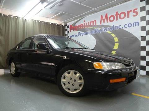 1996 Honda Accord for sale at Premium Motors in Villa Park IL