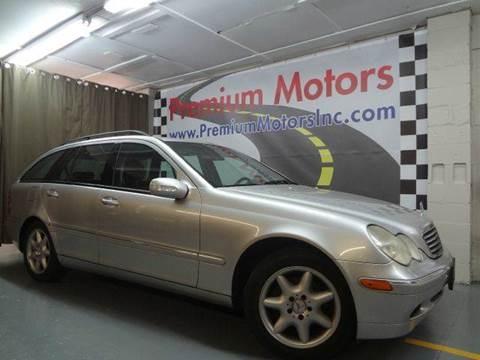 2003 Mercedes-Benz C-Class for sale at Premium Motors in Villa Park IL