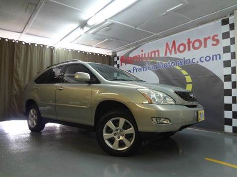 2004 Lexus RX 330 for sale at Premium Motors in Villa Park IL