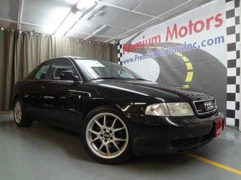 1998 Audi A4 for sale at Premium Motors in Villa Park IL