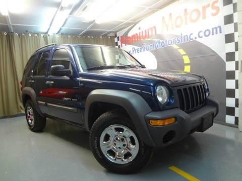 2003 Jeep Liberty for sale at Premium Motors in Villa Park IL