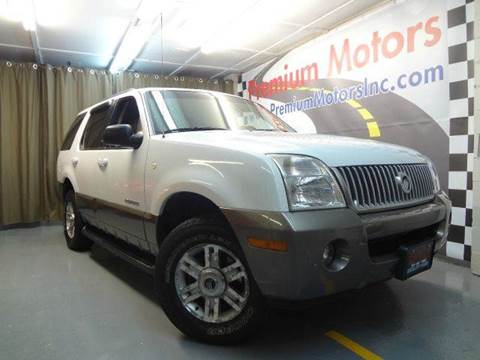 2002 Mercury Mountaineer for sale at Premium Motors in Villa Park IL