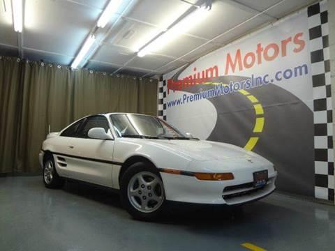 1991 Toyota MR2 for sale at Premium Motors in Villa Park IL