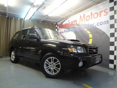 2004 Subaru Forester for sale at Premium Motors in Villa Park IL