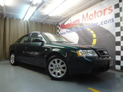 1999 Audi A6 for sale at Premium Motors in Villa Park IL