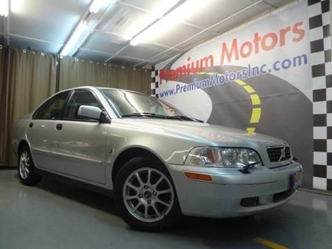 2003 Volvo S40 for sale at Premium Motors in Villa Park IL