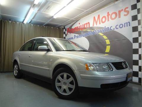 2000 Volkswagen Passat for sale at Premium Motors in Villa Park IL
