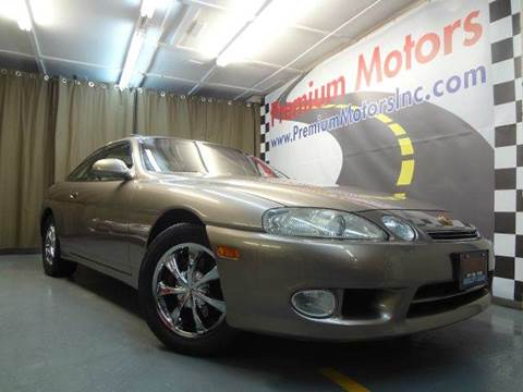 1999 Lexus SC 400 for sale at Premium Motors in Villa Park IL