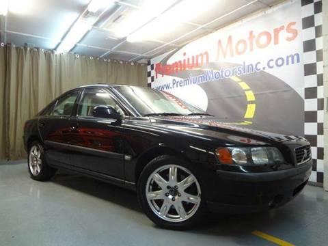 2002 Volvo S60 for sale at Premium Motors in Villa Park IL