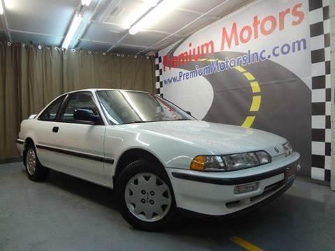 1991 Acura Integra for sale at Premium Motors in Villa Park IL