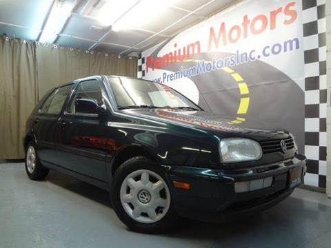 1998 Volkswagen Golf for sale at Premium Motors in Villa Park IL